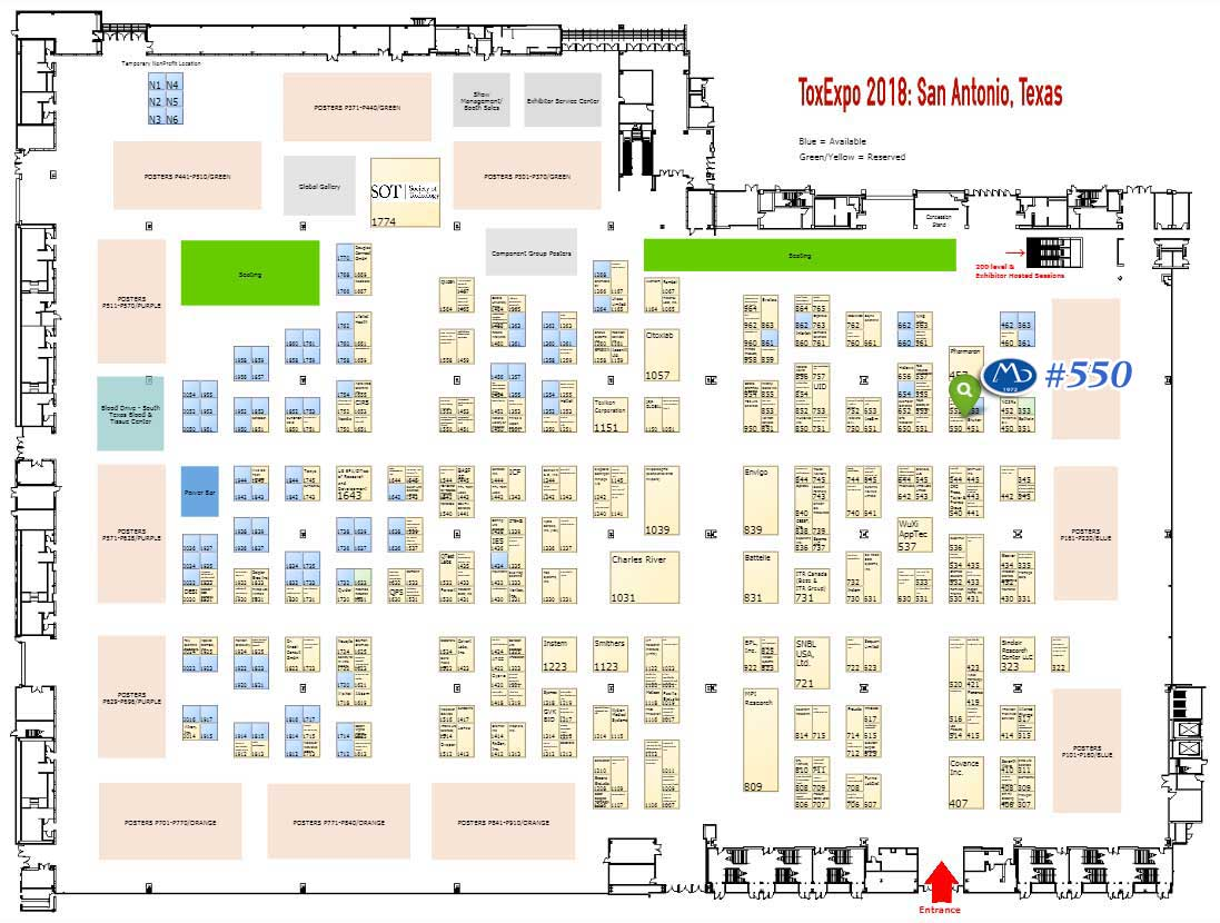 Booth #550, MB Research Labs, In Vitro Toxicology Testing Specialists