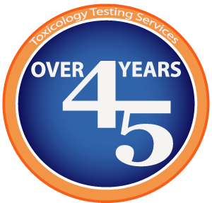 45yrs Experience in Toxicology Testing