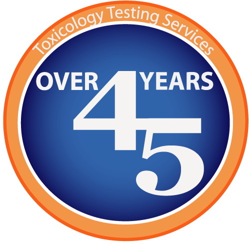 Over 45yrs Experience in Toxicology Testing