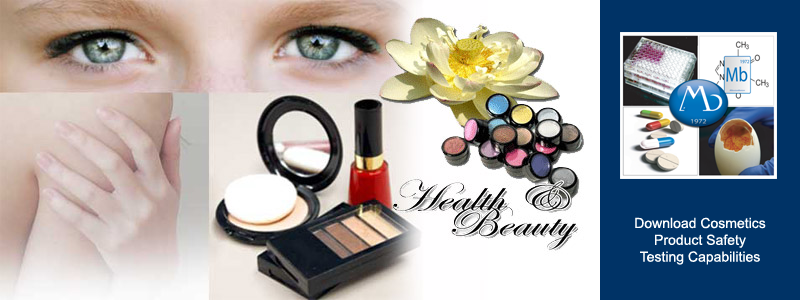 Cosmetic Toxicology Testing.