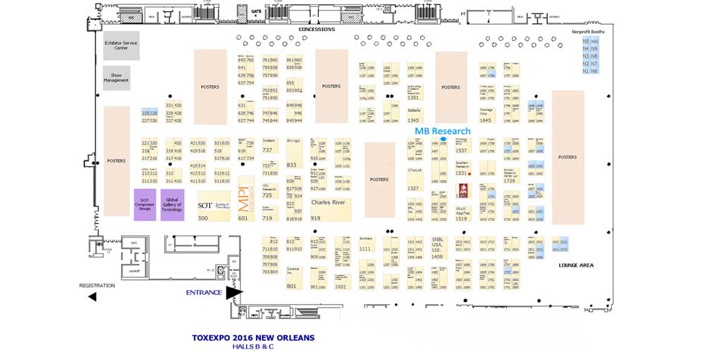 Booth #1538, MB Research Labs, In Vitro Toxicology Testing Specialists